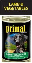 Primal Dog Lamb & Veges 390g