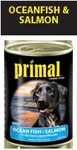 Primal Dog Ocean Fish & Salmon 390g