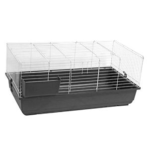 Rabbit Cage 100x56x45 Dark Grey