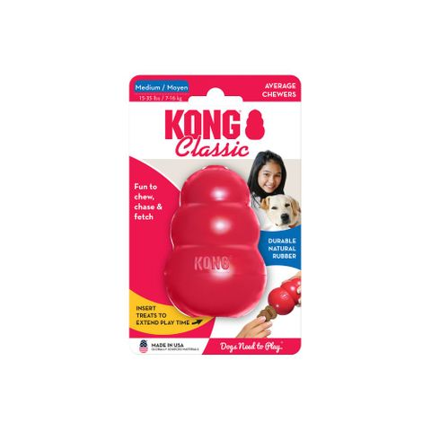 Kong Classic Medium - Red