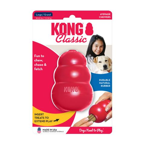 Kong Classic Large - Red
