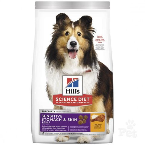 SD Dog Adult Sensitive Stomach & Skin 1.81kg