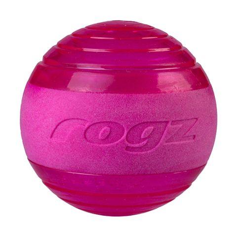 Rogz Squeekz Ball Pink