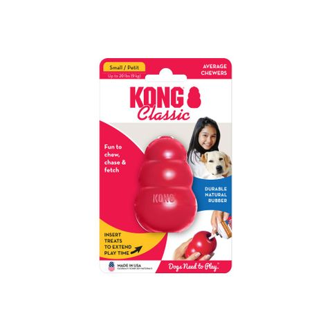 Kong Classic Small - Red