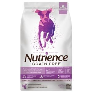 Nutrience Dog Grain Free Pork, Lamb & Duck 2.5kg