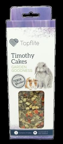 Timothy Cakes Treat - Garden Goodness - 3pk