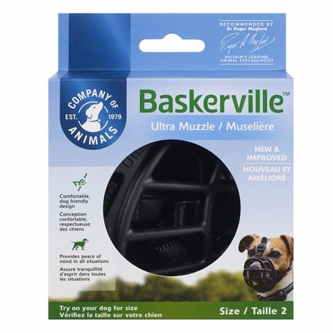 Muzzle Baskerville Ultra Size 2 Black