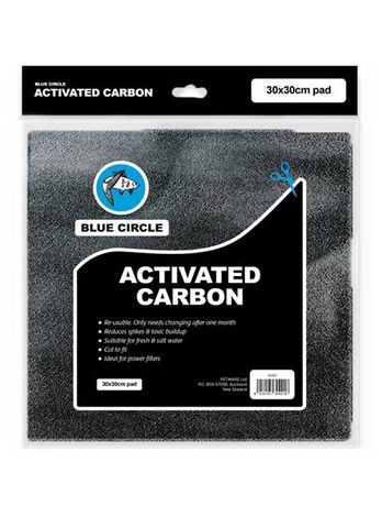 Blue Circle Filter Pad Activated Carbon 30x 30cm