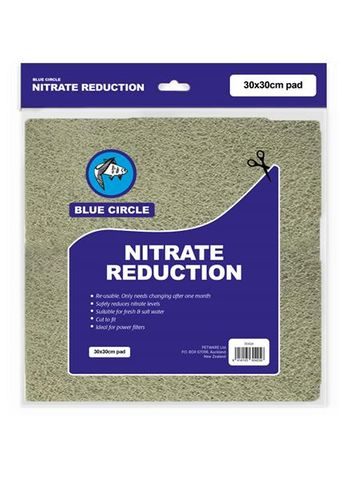 Blue Circle Filter Pad Nitrate Reduction 30x 30cm