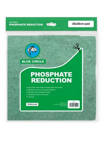 Blue Circle Filter Pad Phosphate Reduction 30x 30cm