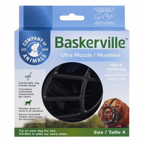 Muzzle Baskerville Ultra Size 4 Black