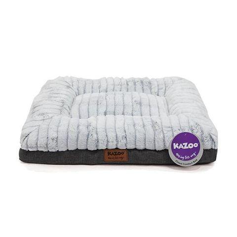 Kazoo Cloud Comfort Bed - Grey - Large