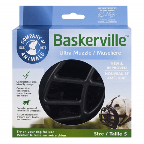 Muzzle Baskerville Ultra Size 6 Black