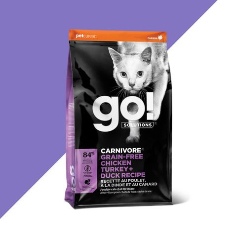 GO! Cat Carnivore Grain Free Chicken,Turkey & Duck 7.26kg