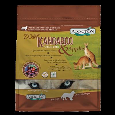 Addiction Dog NZ Wild Kangaroo & Apples 9kg