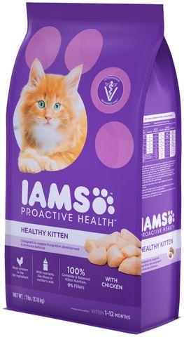 IAMS Cat Healthy Kitten Chicken  7.26kg