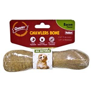 Gnawler 12.5cm Bacon Bone Medium
