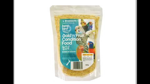 Best Bird Gold'n'Fruit Condition Food 500g