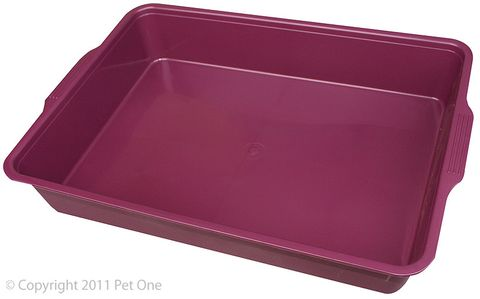 Pet One Litter Tray - Rectangle Medium 44x31x7cm