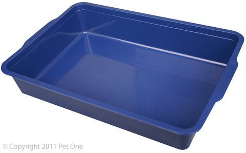 Pet One Litter Tray - Rectangle Small 37x25x7cm