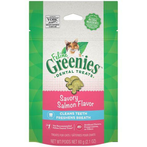 Greenies Cat Savory Salmon 60g