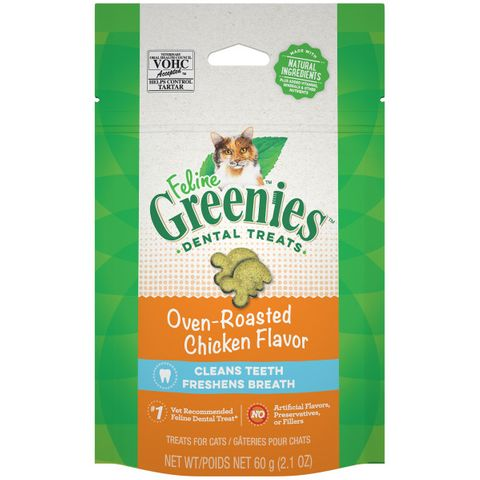Greenies Cat Oven Roasted Chicken 60g