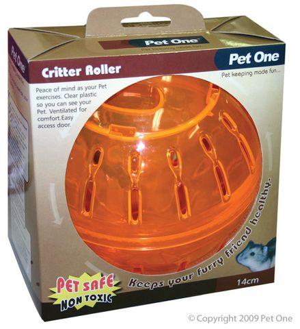 Pet One Critter Roller Small 14cm