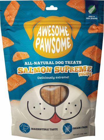 Awesome Pawsome Dog Treats Salmon Supreme 85g
