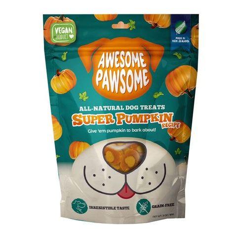 Awesome Pawsome Dog Treats Super Pumpkin 85g