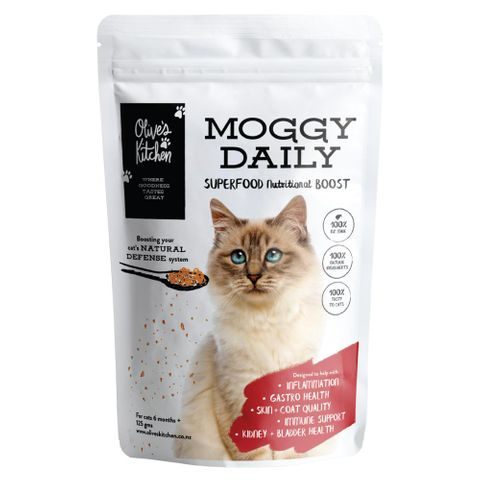Olive's Kitchen Moggy Daily Supplement 125g
