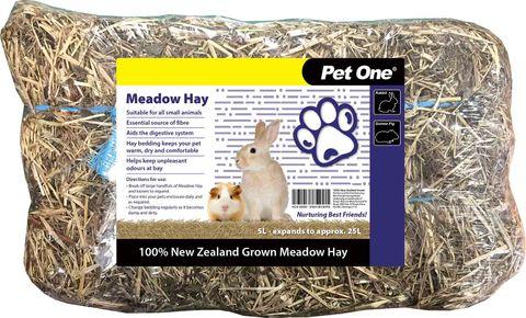 Pet One Bedding Meadow Hay 5lt