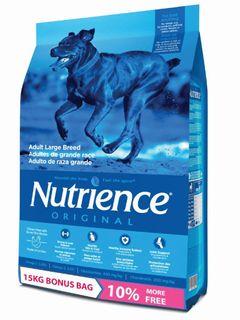 Nutrience Dog Original Adult Large Breed 13.6kg + 10% FREE
