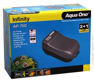 Aqua One Infinity Air Pump AP750