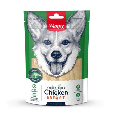 Wanpy Freeze Dried Dog Chicken Breast Treat 40g