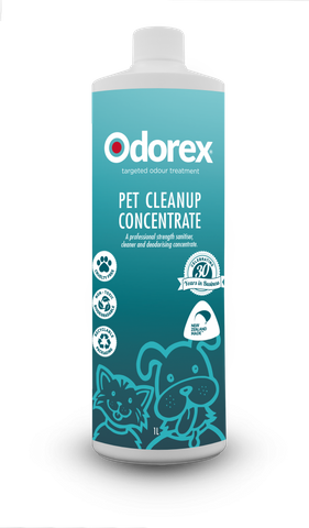Odorex Pet Cleanup 1lt Concentrate