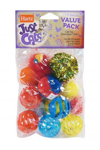 Hartz Cat Toys Value Pack 13pk