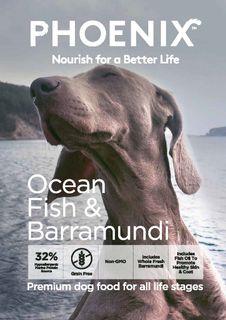 Phoenix Dog Ocean Fish & Barramundi 13kg