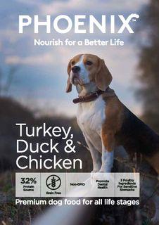 Phoenix Dog Turkey, Duck & Chicken 13kg