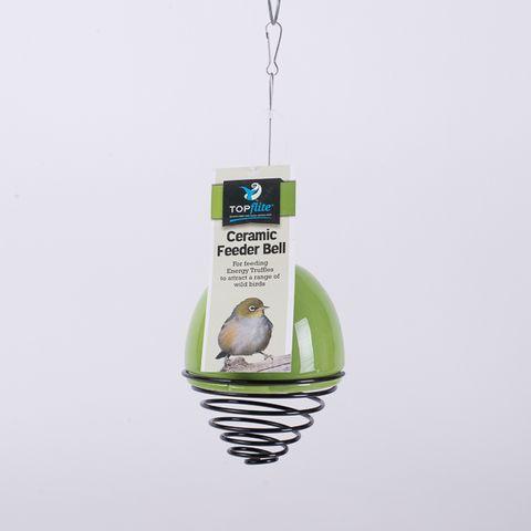 Ceramic Truffle Twister Wild Bird Feeder