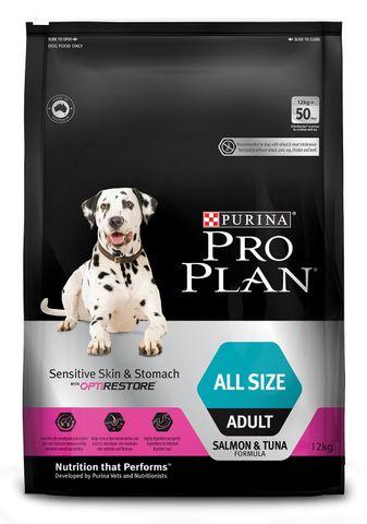 Proplan Dog Adult Sensitive Skin & Stomach 12kg