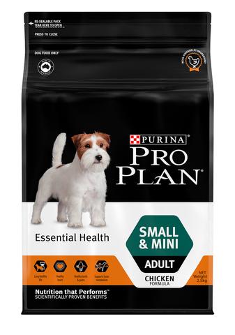 Proplan Dog Adult Small & Mini Breed Essential Health 2.5kg