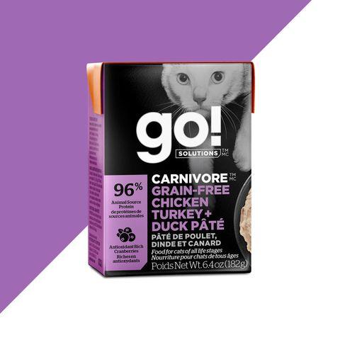 GO! Cat Wet Carnivore Chicken, Turkey & Duck Pate 182g