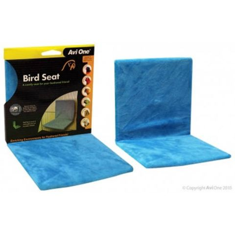 Avi One Bird Seat Blue With Fabric Cover