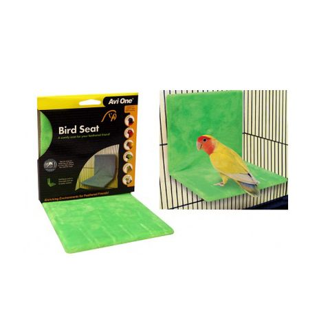 Avi One Bird Seat Green With Fabric Cover