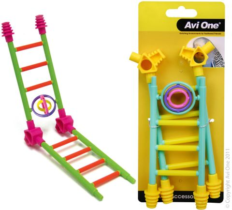 Avi One Bird Toy Construct a Game w Turning Rings