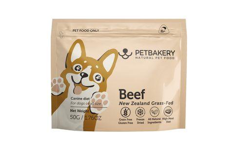 Pet Bakery Dog Treat Beef  50g