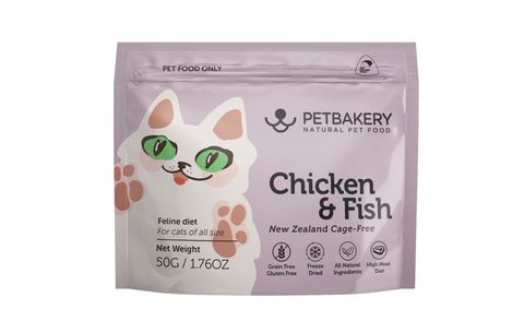 Pet Bakery Cat Treat Chicken & Fish  50g