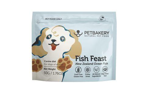 Pet Bakery Dog Treat Fish  50g