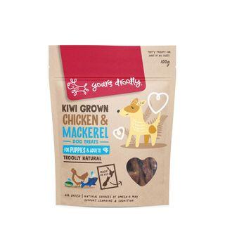 YD NZ Chicken & Mackeral Puppy Treats 100g