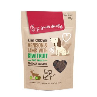 YD NZ Venison, Lamb & Kiwifruit Dog Treats 200g